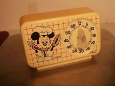 VINTAGE 1960's MICKEY MOUSE SUNBEAM KITCHEN TIMER WALT DISNEY Mickey Mouse Kitchen, Minnie Mouse Toys, Disney Kitchen, Vintage Mickey Mouse, Vintage Disney, Disney Mickey Mouse, Old Disney, Disney Home, Disney Magic