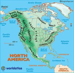 map of us landforms five in a row grandfathers journey