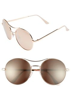 BP. 58mm Oversize Round Sunglasses available at #Nordstrom