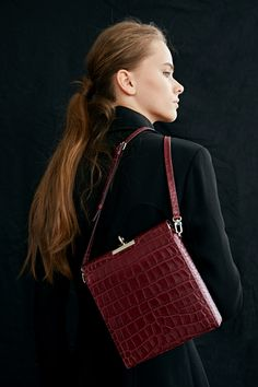 [Pre-order]Lucky2 Bag_Leather(Wine)
