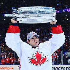 One of the main reasons behind Canada's success, beside the offensive firepower of the first line, was the stellar performance of Carey Price throughout the tournament. Read what he said after the game on IIHF.com  Photo: Bruce Bennett / Getty Images Bruce Bennett, Hockey World Cup, Success, Baseball Cards, Game, Instagram Posts, Venison, Gaming, Games