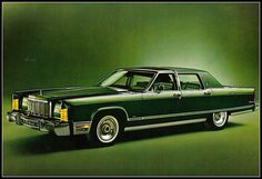 1976 lincoln town car | by coconv #photography #vintage #green