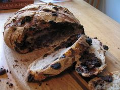 Chocolate cherry sourdough bread | The Fresh Loaf - read comments for suggestions-add dutch cocoa, use lean dough instead of sourdough.
