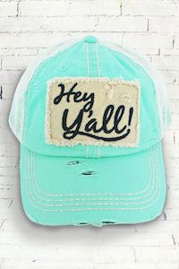acc4d271abbb57 Hey Y'all Baseball Hat ~ Hey Y'all Trucker Hat ~ Women's Baseball Hat ~  Y'all saying hat ~ Y'all by SimplyStephsMonogram on Etsy