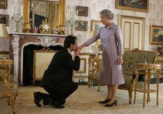 """""""The Queen"""" movie still, L to R: Michael Sheen, Helen Mirren. Julia Ormond, Film Biographique, Bon Film, Drama Film, Movie Film, Tilda Swinton, Eddie Redmayne, Colin Firth, Fred Astaire"""
