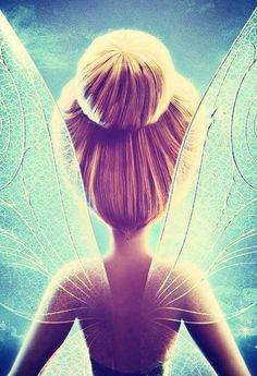 I pinned this because. it is a beautiful image and tinker bell reminds me of my niece. She LOVES tinker bell, and has made her mommy like it too. Disney And Dreamworks, Disney Pixar, Disney Characters, Disney Bound, Art Disney, Disney Magic, Tinker Bell, Disney Dream, Disney Love