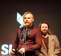 Jasper Pääkkönen and Peter Franzen