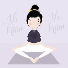 { é tanto problema!!! Só preciso de alguns minutos de silêncio e respiração! Tudo se resolve! #cacaurules . - #peace #yoga by iamlubi