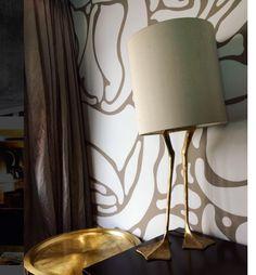 Duck Feet lamp by Porta Romana