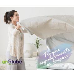 Nessa estação é importante cuidar da saúde. E lençóis e cobertores quando em ambientes sem muita ventilação, atraem muitos ácaros!
