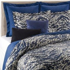 DVF Studio™ Leopard Splash Pillow Shams - BedBathandBeyond.com