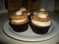 snickerdoodle cookie cupcakes