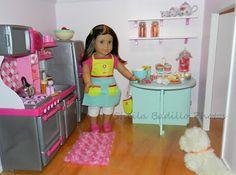 American Girl Doll Play: Amazing American Girl Doll House!