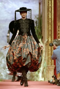 Christian Lacroix Couture Fall 1987