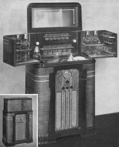 Radio-Bar, Model 528-37-620, 1937  Original price $252.50