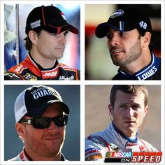 The men of Hendrick Motorsports