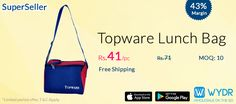 Durable Topware Lunch Bag @Rs. 41