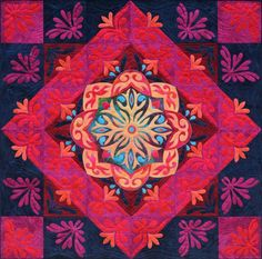 Arabian Nights Here's another stunning quilt by Ricky Tims for those who love to work in appliqué! This pattern provides instructions for two quilts: the cover quilt with its glorious center medallion and an album-style quilt made solely from appliqué album blocks (see pattern insert and inside cover). Ricky uses fusible appliqué in his work, but either of these quilts could be made using needle-turn appliqué.  http://jwdpublishing.com/ws/index.php?option=com_content&task=view&id=770&itemid=68