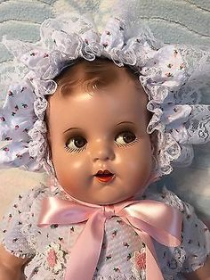 Vintage Composition Baby Doll, Ideal, Flirty Eyes