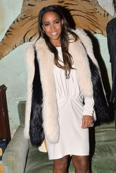 Stars attend Paris Fashion Week fall/winter 2015: Kelly Rowland attends the Eleven Paris presentation and cocktail party during Paris Fashion Week fall/winter 2015 in Paris on March 5, 2015.