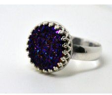 #fifthheaven.com.au       #ring                     #Purple #Druzy #Ring, #Sterling #Silver #Ring, #Handmade #Cocktail #Ring      Purple Druzy Ring, Sterling Silver Ring, Handmade Cocktail Ring                                         http://www.seapai.com/product.aspx?PID=1369522