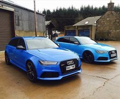 Are you the #Rivierablue or #Voodooblue #Audi #RS6 type? oooo : @ocd_tailing…
