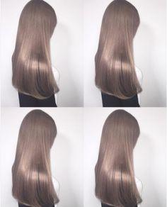 I love that hair color White Blonde Hair, Honey Blonde Hair, Blonde Hair Japanese, Japanese Hair Color, Mushroom Hair, Platinum Hair Color, Cool Hair Color, Beige Hair Color, Gorgeous Hair