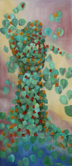 Angle dance, 2014, oil on canvas. jusoik.com. Sold