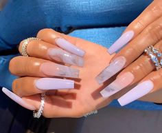Discovered by berber. Find images and videos about pretty, pink and nails on We Heart It - the app to get lost in what you love. Drip Nails, Bling Acrylic Nails, White Acrylic Nails, Summer Acrylic Nails, Gel Nails, Coffin Nails, Summer Nails, Acrylic Toes, Matte Nails