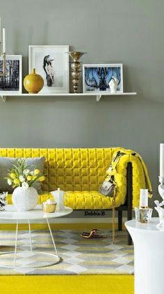 Room Creative Furniture Ideas for Living Room Decor, Furniture, Interior, Yellow Home Decor, Wall Decor Living Room, Backyard Furniture, Home Decor, Decorating Your Home, Sofa Decor