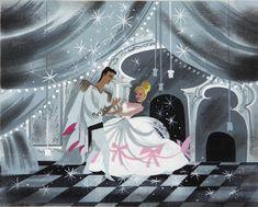 Cinderella (1950) concept art by Mary Blair