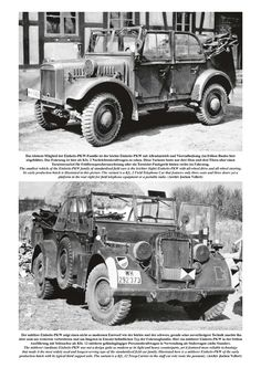 The idea of a unified design for a military passenger (field) car for the Wehrmacht began to take shape in the early 1930s. The intention was to avoid the many types of different vehicles that were used in the Reichswehr by concentrating on the so-called leichter (light), mittlerer (medium) and schwerer (heavy) 'Einheits-PKW' standardised designs. The Einheits-PKWs were in their time technically state-of-the-art and played a vital role from the rearmament of the Wehrmacht up to the first…