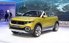 Apresentado no Salão de Genebra (Suíça), o conceito T-Cross Breeze adianta o design do futuro SUV baseado no  Polo