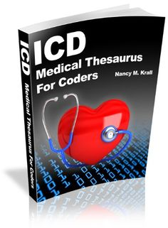 ICD Medical Thesaurus For Coders:Amazon:Kindle Store Medical Coding Classes, Medical Coding Course, Medical Billing And Coding, Medical Terminology, Medical Coder, Medical Careers, Health Information Management, Medical Information, Cna Study Guide