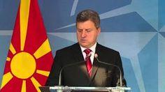 Σε άλλο ...μήκος κύματος ο πρόεδρος των Σκοπίων: Μας κρατάει ομήρους η Ελλάδα