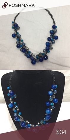 Beautiful handmade necklace Handmade necklace made with a variety of beads to include Swarovski pearls and Swarovski crystals.  This necklace can be customized with different colors.  Thanks for looking! Jewelry Necklaces