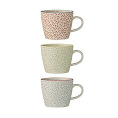 Laura mug 3-pack - multi - Bloomingville