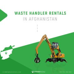 #Waste Handler Rentals in Kabul, #Afghanistan! +93 744 180 000 / info@afghanrentals.com #Waste_Handler_Rentals_in_Afghanistan #Kabul_Waste Handler_Rentals #Heavy_Equipment_Rental_in_Afghanistan #Heavy_Machinery_Rental_in_Afghanistan