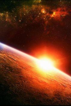 #Sunrise in #space    #rdhr