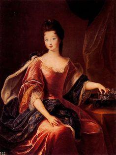 Françoise Marie de Bourbon by Pierre Gobert - Marie Louise Elisabeth van Orléans, hertogin van Berry (Kasteel van Versailles, 20 augustus 1695 - Parijs, 21 juli 1719) was een lid uit het huis Orléans en ze was een Princesse du Sang. Na haar huwelijk, met de hertog van Berry, werd ze de hertogin van Berry (Duchesse de Berry). Door haar huwelijk werd ze ook petite-fille de France en nam ze zelf de titel Koninklijke Hoogheid aan.