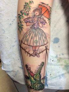 Haunted Mansion tattoo