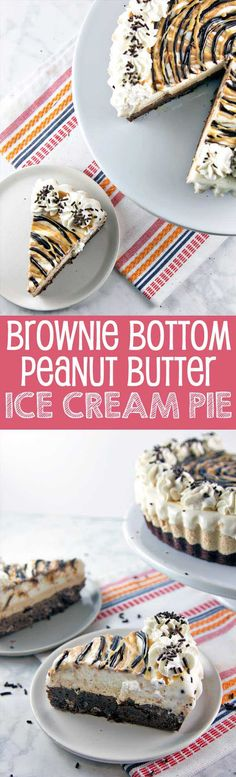 This homemade peanut butter ice cream pie is perfect for any occasion! Make this delicious treat for family or friends!