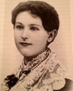 This picture from the DeSmet historical society is identified in Pioneer Girl as Genevieve Masters, one of the two girls upon whom Laura based the character of Nellie Olsen. Genny Masters was the one who later moved to DeSmet and competed with Laura for Almanzo's attention.