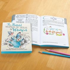 Words Of Jesus Inspirational Coloring Book
