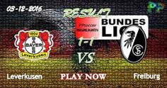 Bayer Leverkusen 1 - 1 SC Freiburg 03.12.2016 HIGHLIGHTS - PPsoccer
