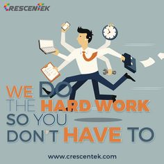 Want someone to take care of your company's online reputation and growth? Then you'll feel at home with #Crescentek.