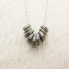 Zipper Sterling Silver Everyday Necklace / hipster by byjodi, $78.00