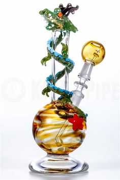 EMPIRE GLASSWORKS - RISING DRAGON DAB RIG in KING's Pipe Online Headshop #420
