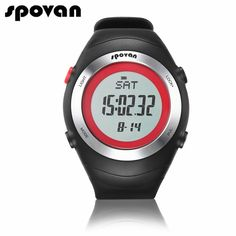 (38.99$)  Buy here - http://aiooi.worlditems.win/all/product.php?id=32787242404 - SPOVAN Sport Watches for Women Watch Women Digital Men Watch Heart Rate Monitor/Stopwatch/Waterproof SPV908