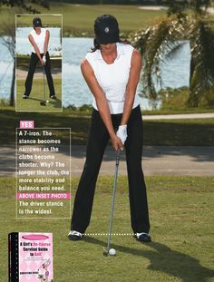 I like just inside shoulder-width for my irons.